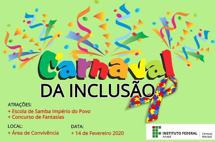 Carnaval da Inclusão traz escola de samba