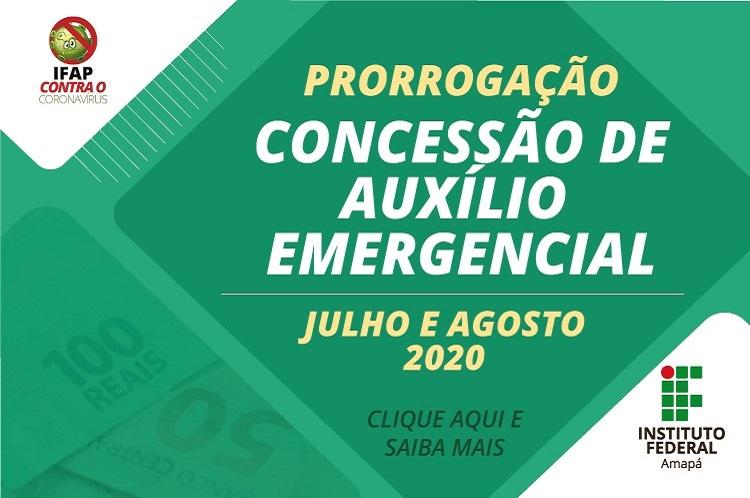 Ifap garante renovação do auxílio emergencial