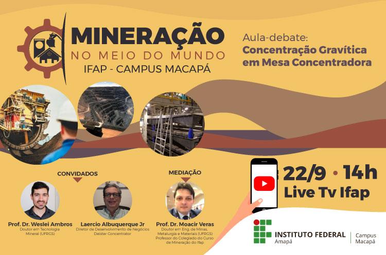 Curso de Mineração realiza aula-debate