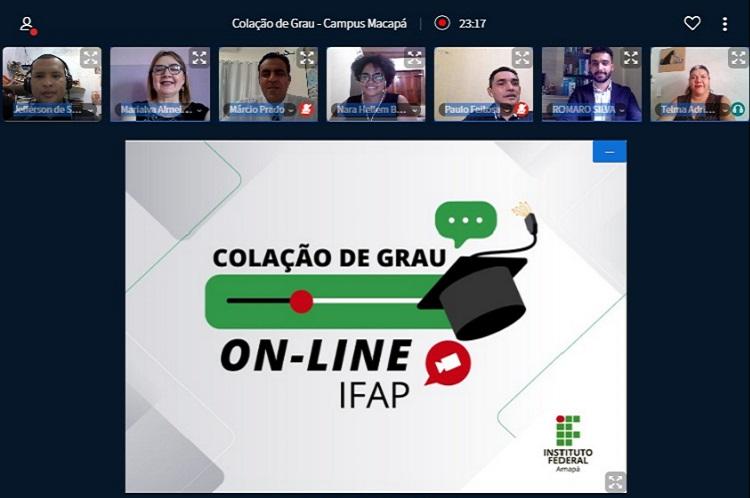 Ifap realiza primeira colação por webconferência