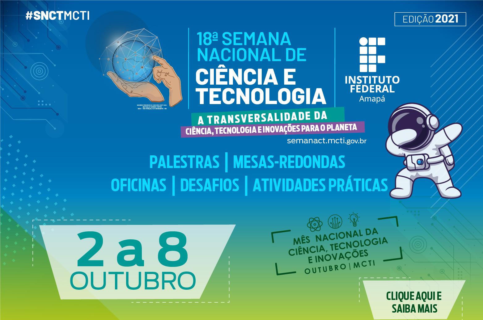 Campus Macapá tem programação na SNCT