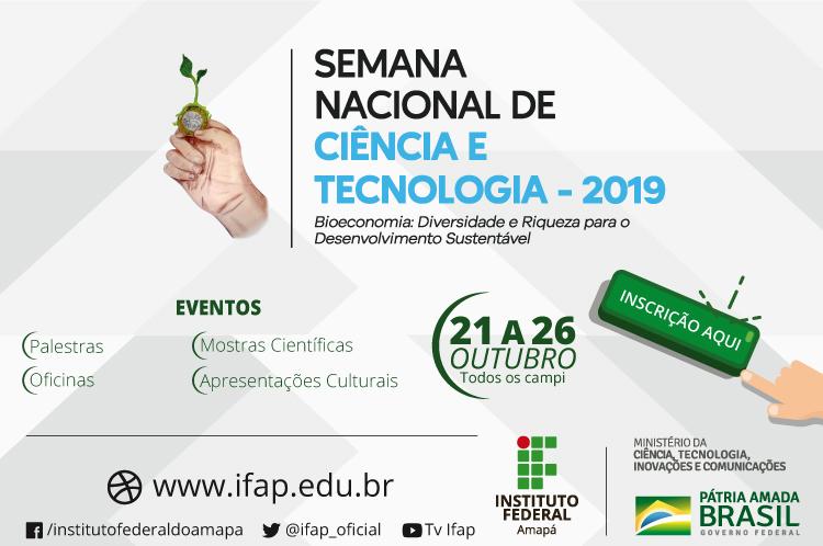SNCT no campus Macapá inicia dia 22/10