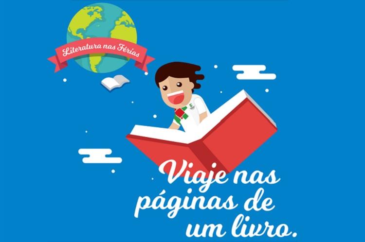 Biblioteca realiza o projeto Literatura nas Férias