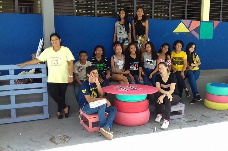 Ifap leva projetos para a Escola Ruth Bezerra