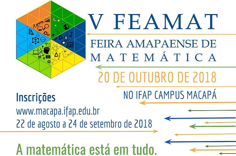 V Feamat recebe inscrições até dia 24/9