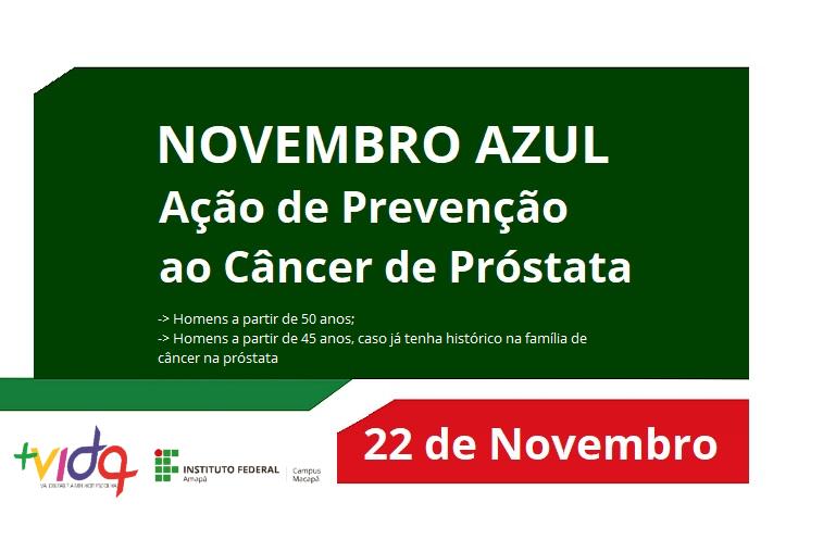 Mais Vida promove ação Novembro Azul