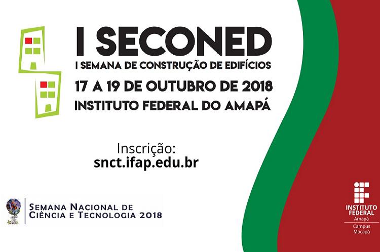 I Seconed acontece de 17 a 19/10 na SNCT